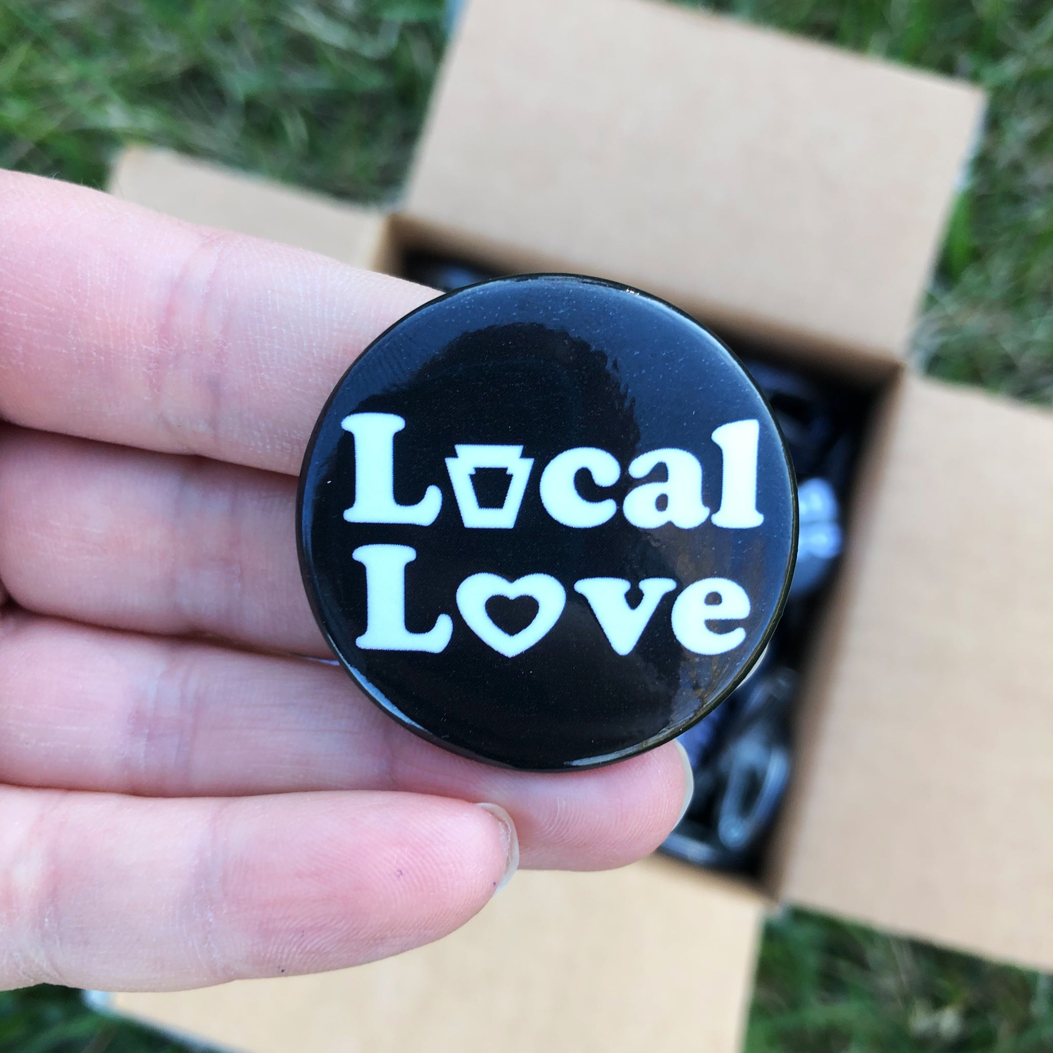"Local Love 1.5"" Buttons"