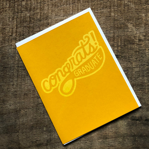 Congrats Graduation Card