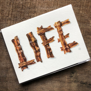Bacon Life Card
