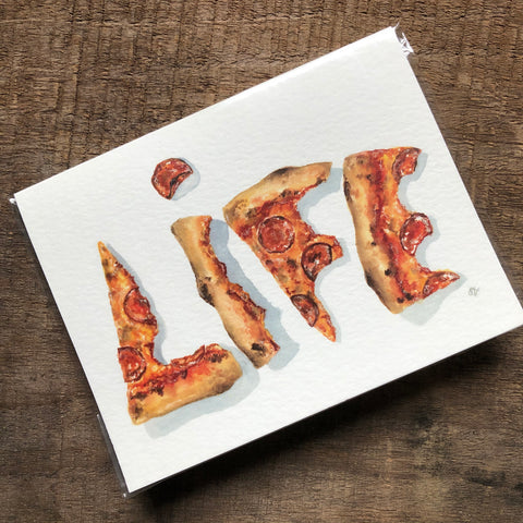Pizza Life Card