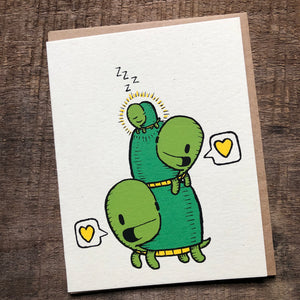 Turtles Baby Card