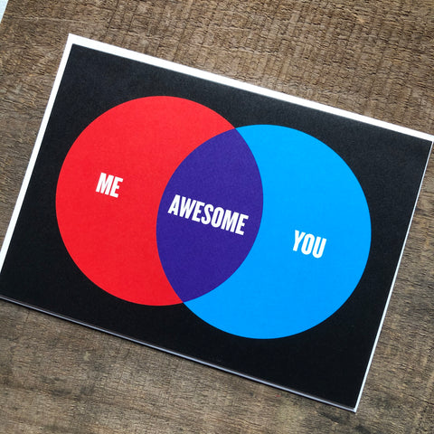 Venn Diagram Card