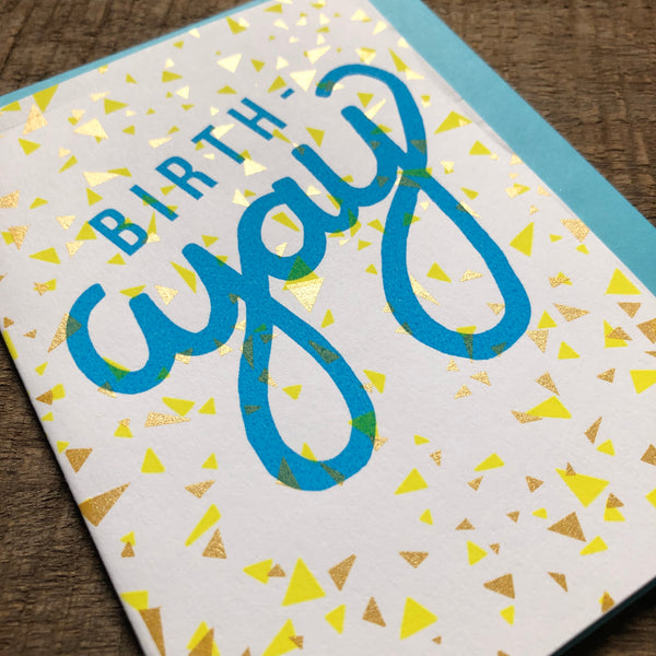 BirthYAY Birthday Card