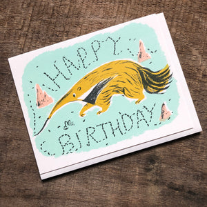 Anteater Birthday Card