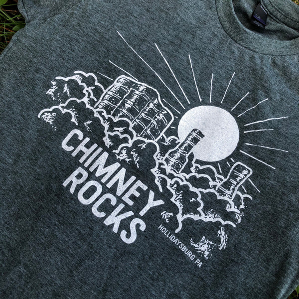 Chimney Rocks T-shirt
