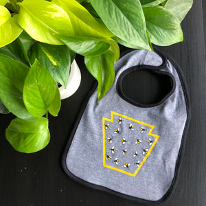 Lightning Bug Bib