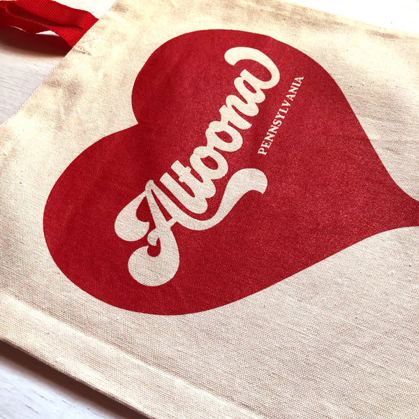 Altoona Heart Tote Bag