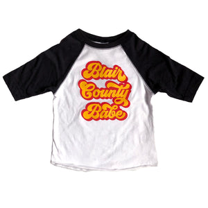 Blair County Babe Kids Baseball T-shirt