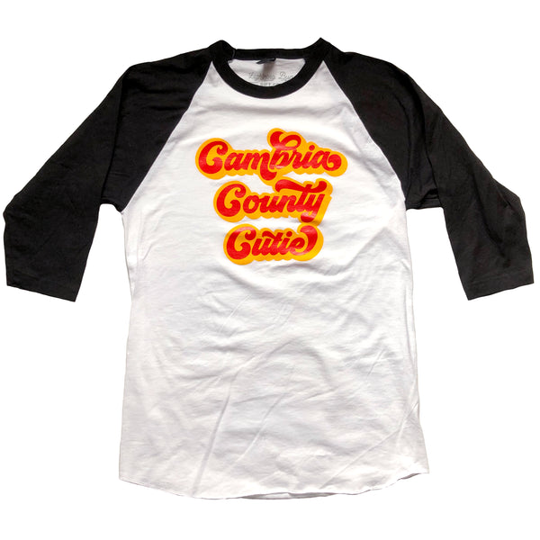 Cambria County Cutie Baseball T-shirt