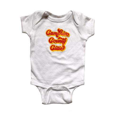 Cambria County Cutie Baby One Piece