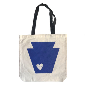Keystone Heart Tote Bag