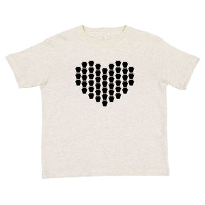 Keystones Heart Kids T-shirt - PREORDER - Ships between Feb 3-7 (2 color options)