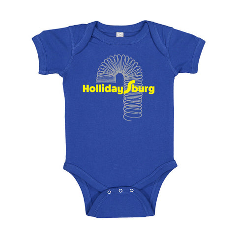 Slinky Hollidaysburg Baby One Piece