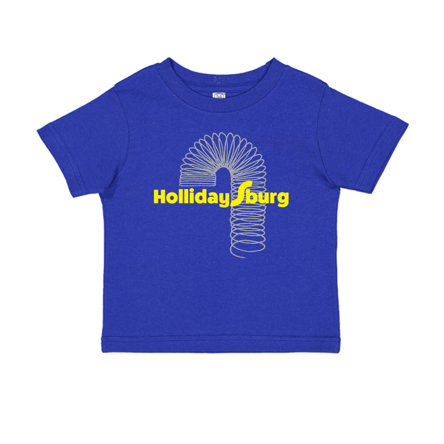 Slinky Hollidaysburg Kids T-shirt