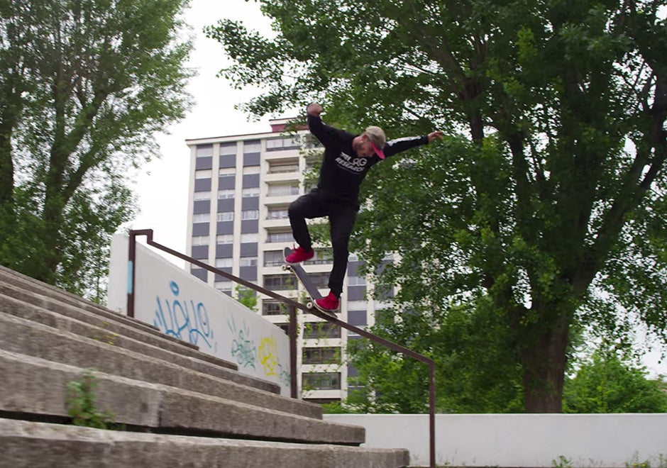 Watch: New Balance's Skate Crew in Spain