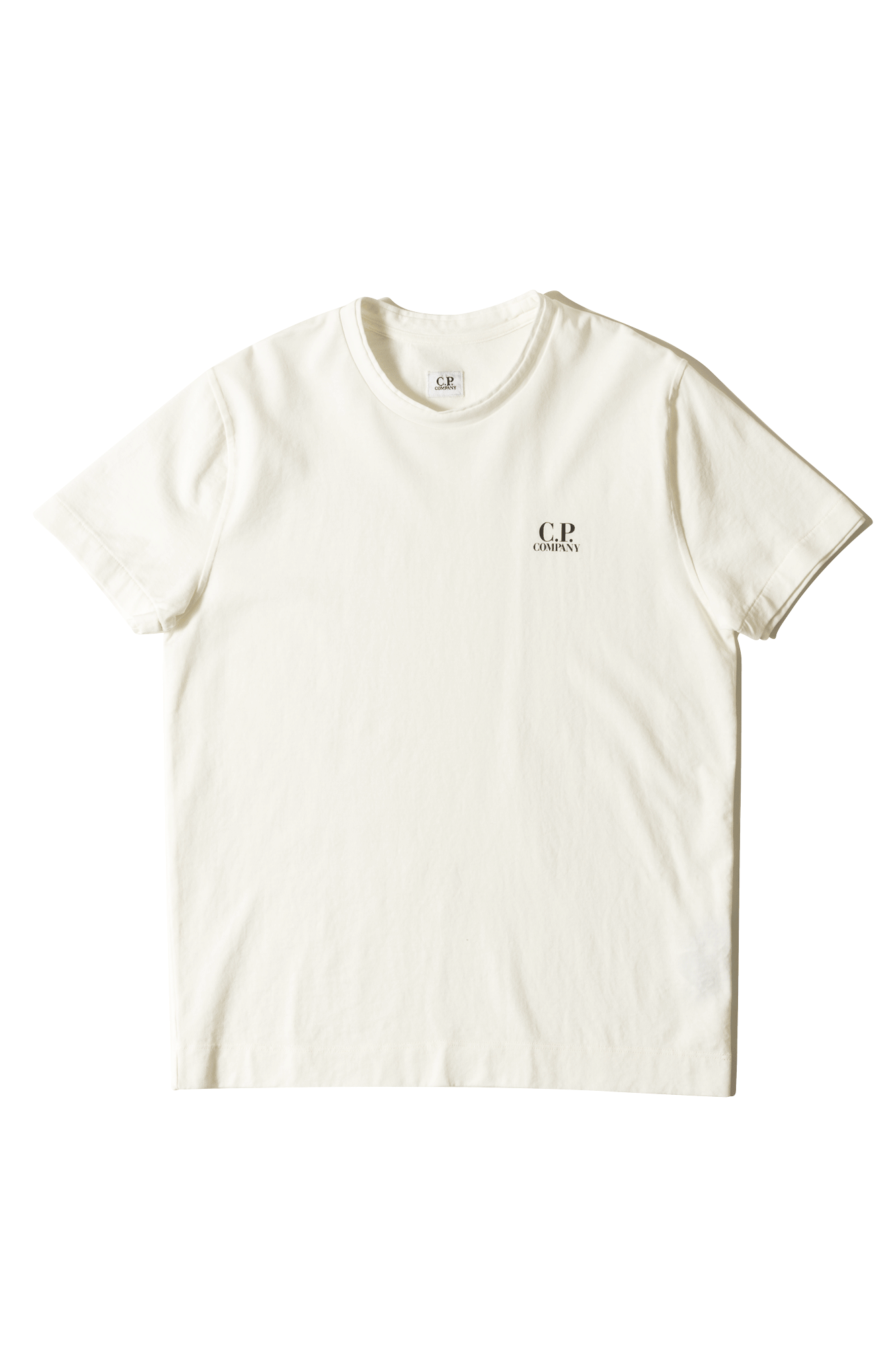 C.P. Company T-Shirts Short Sleeve T-Shirt Bianco Bianco 002A005163#G000#WHT#XL - One Block Down