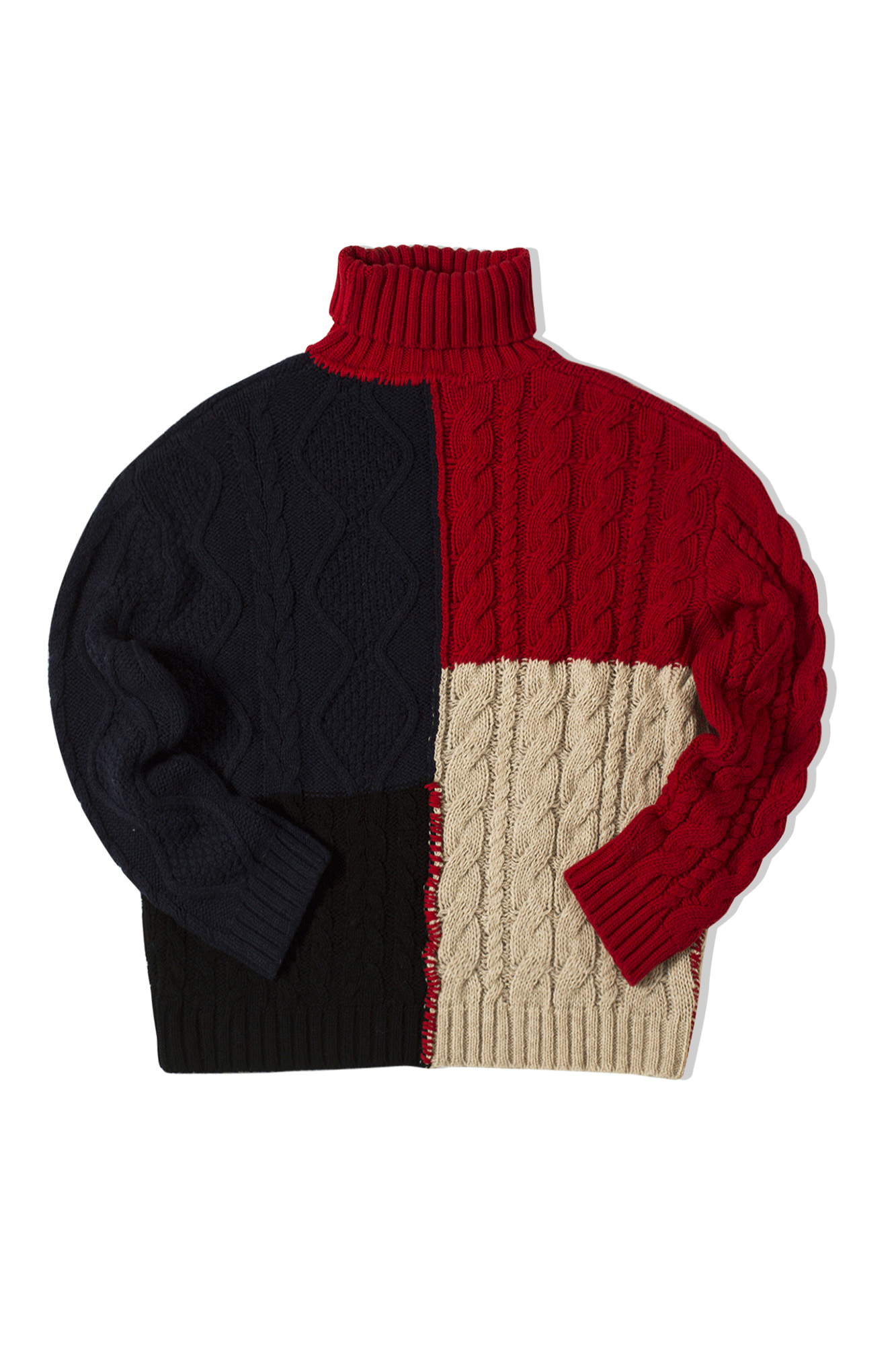Paulun Wool Crewneck Sweater Rosso