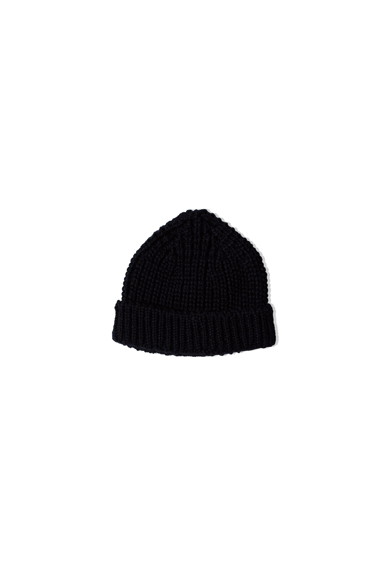 Câbleami Cappelli WOOL SHORT W/CAP Blu 031-20AW#000#NVY#OS - One Block Down