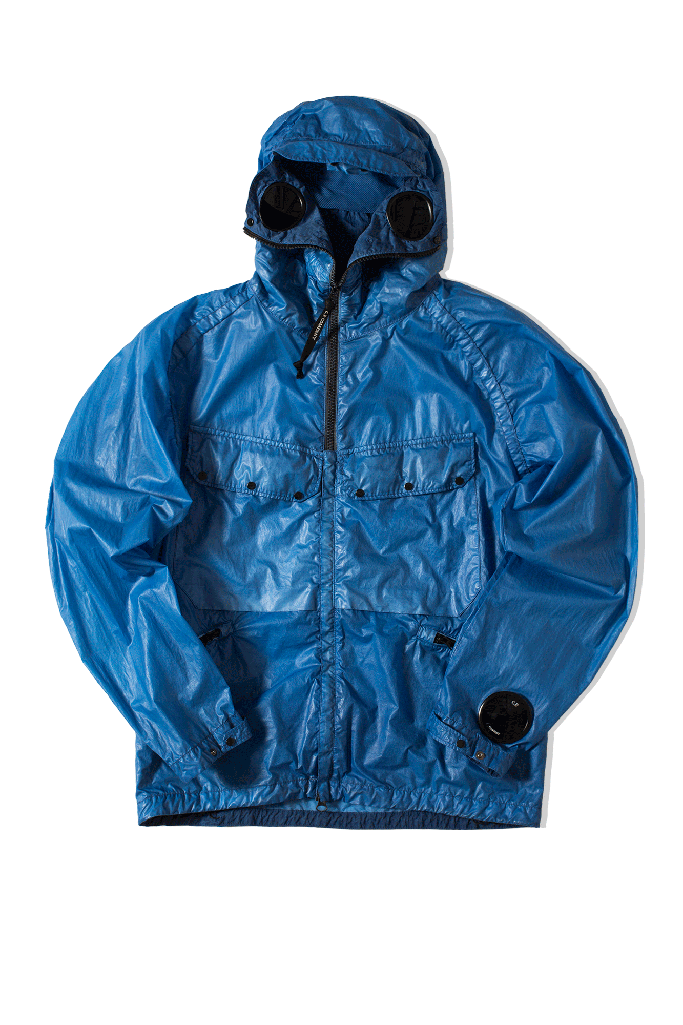 Nyber Special Dyed Goggle Jacket Blu
