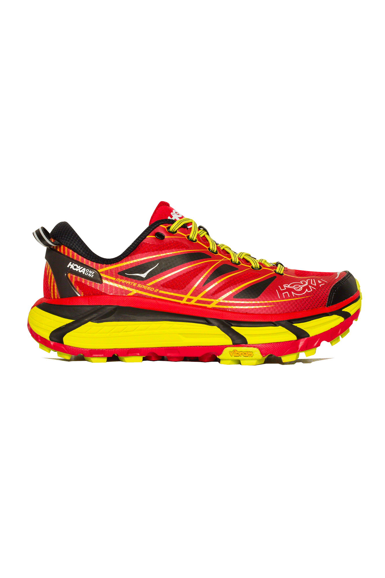 Hoka One One Trainers Mafate Speed 2 Men's Rosso 1012343T#000#RCT#8 - One Block Down