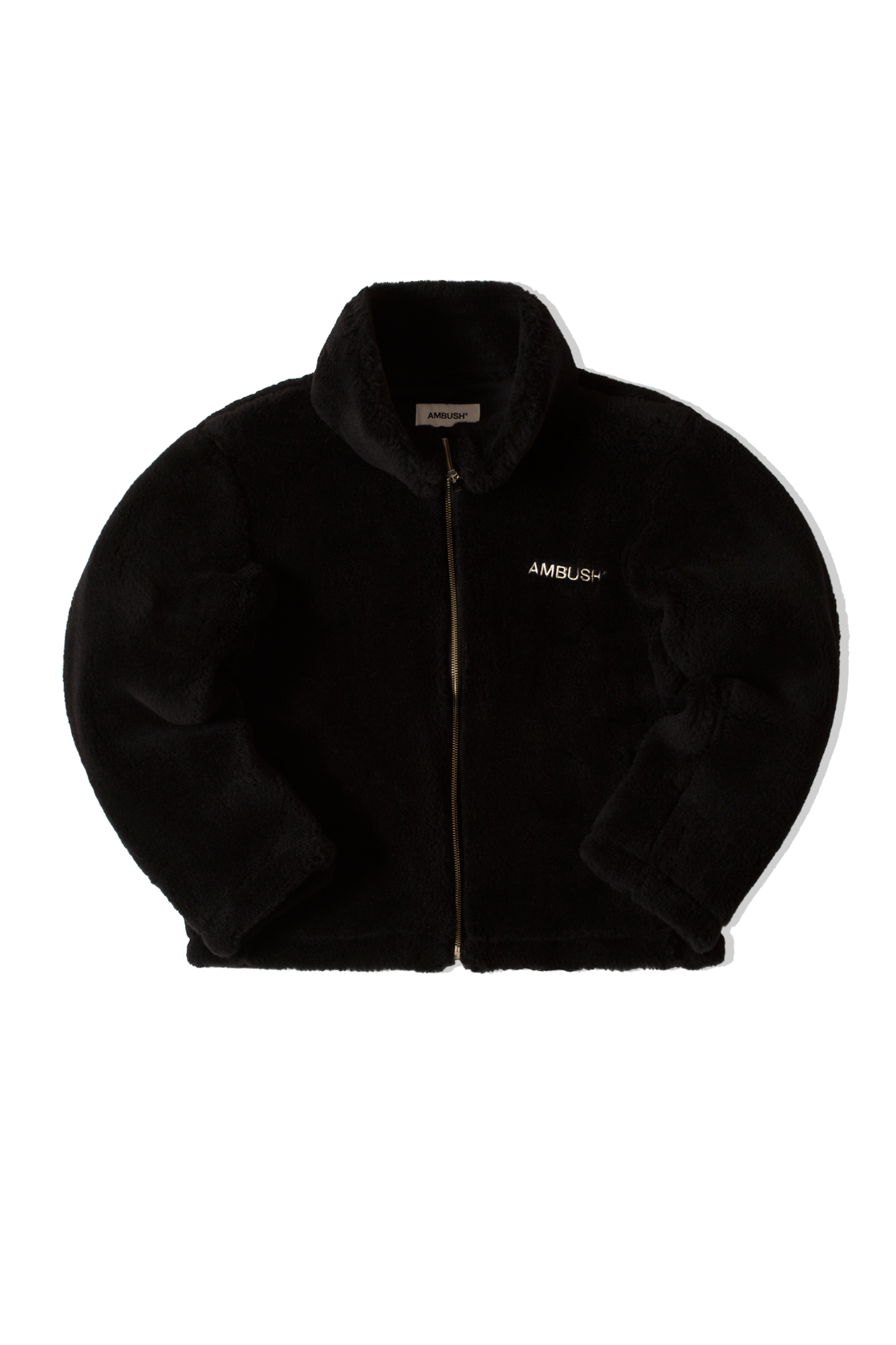 Wool Fleece Jacket Nero