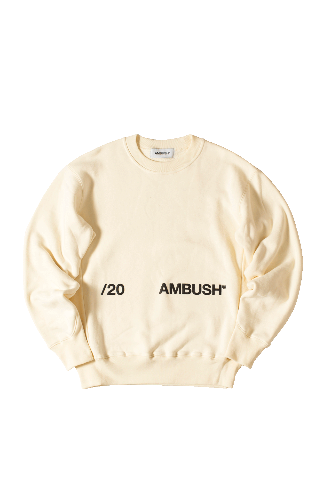 New Crewneck Sweatshirt Bianco