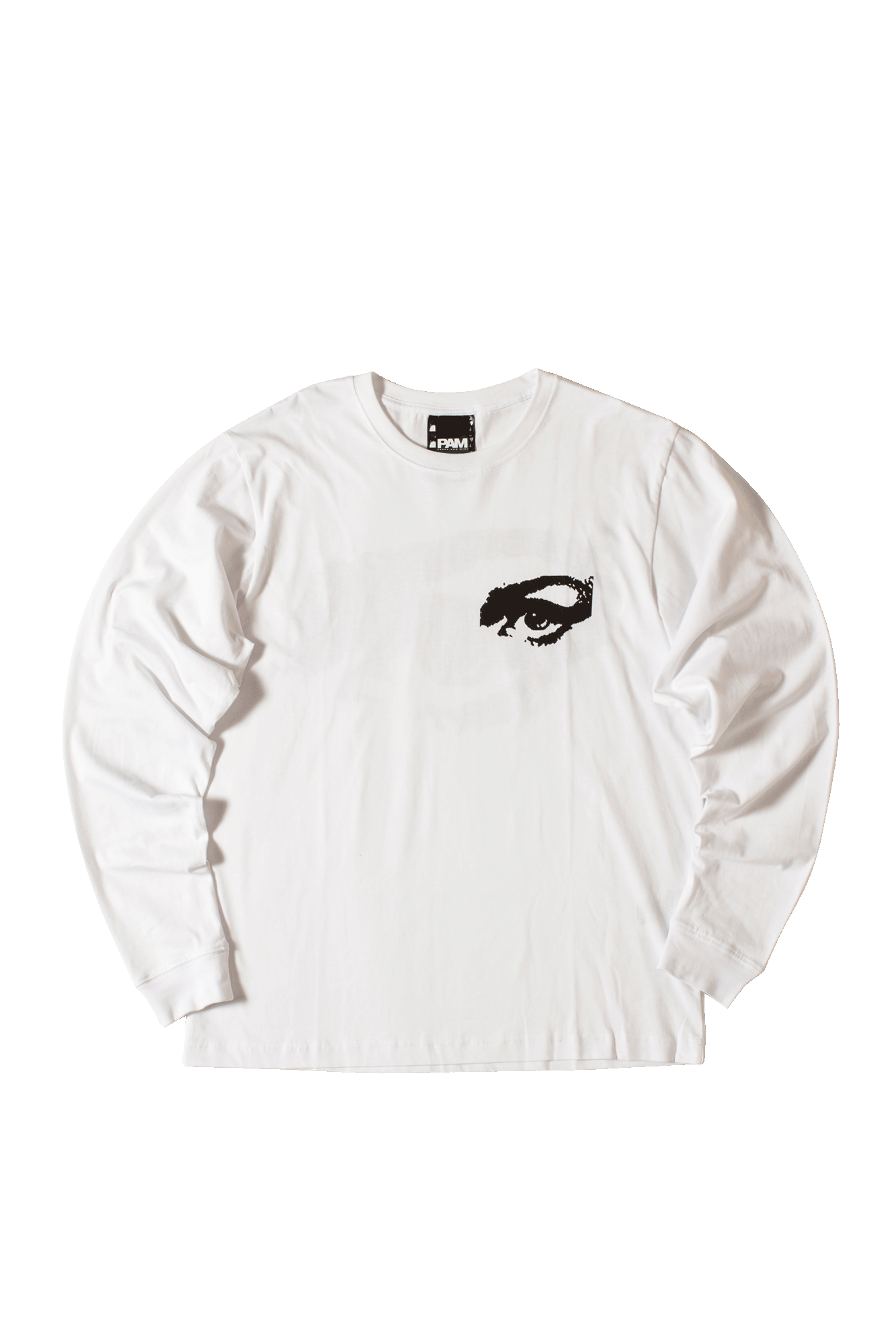 Private Long Sleeve T-Shirt Bianco