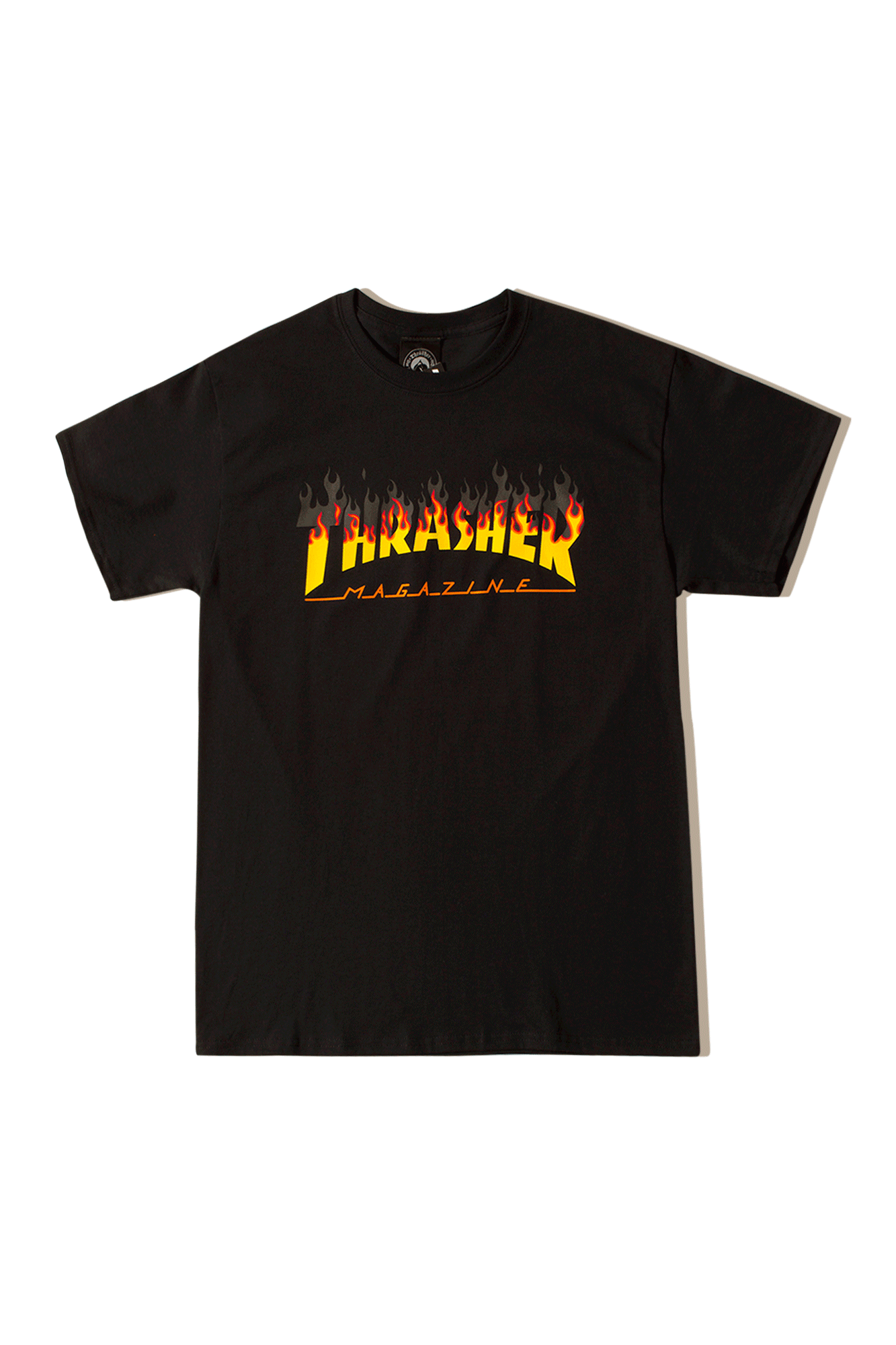 Thrasher T-Shirts BBQ T-Shirt Nero 14643B#000#BLACK#S - One Block Down