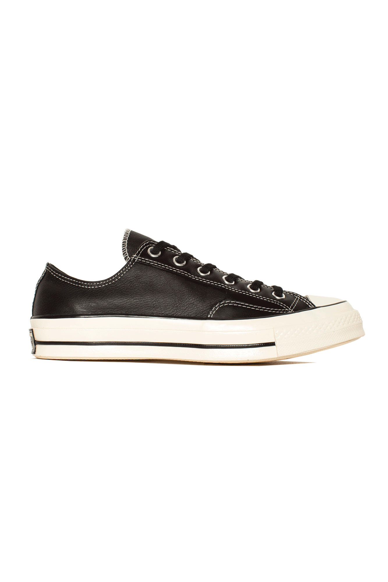 Converse Sneakers Chuck 70 Luxe Leather Nero 163330C#000#C0010#8 - One Block Down