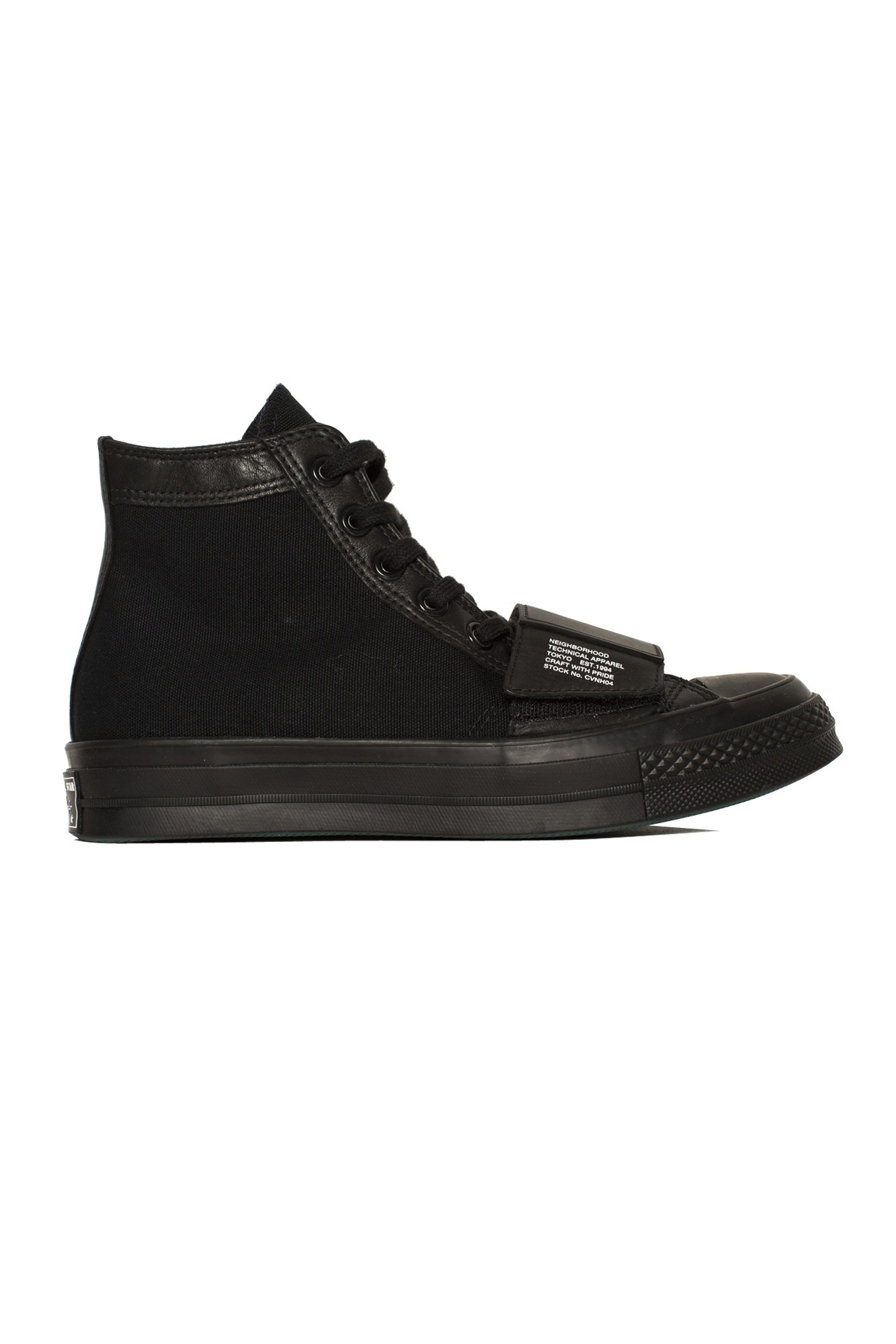 Chuck 70 Moto  x  Neighborhood Nero