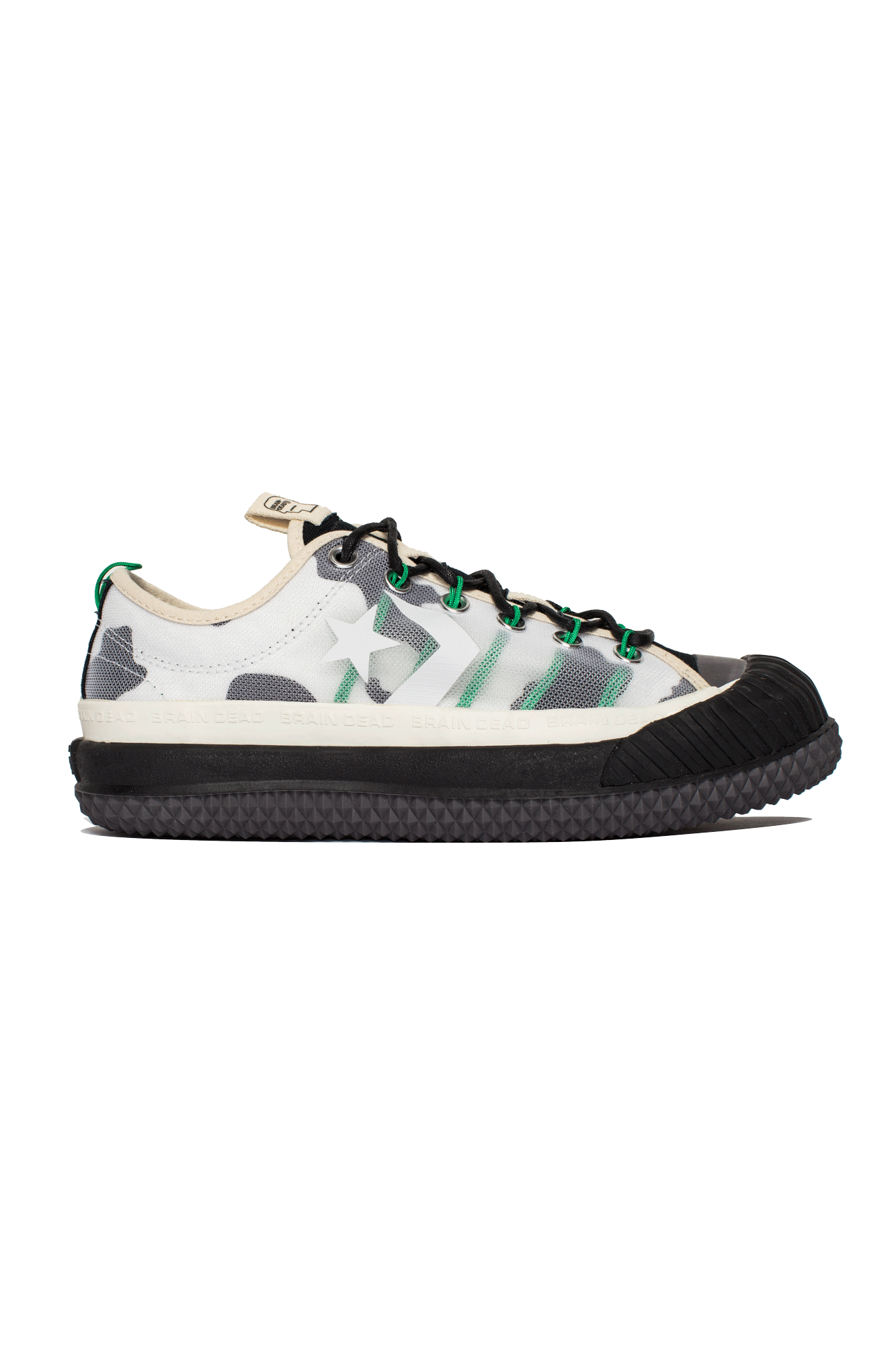 Converse Sneakers Bosey OX x Brain Dead Bianco 169947C#000#NTIVRY#5 - One Block Down