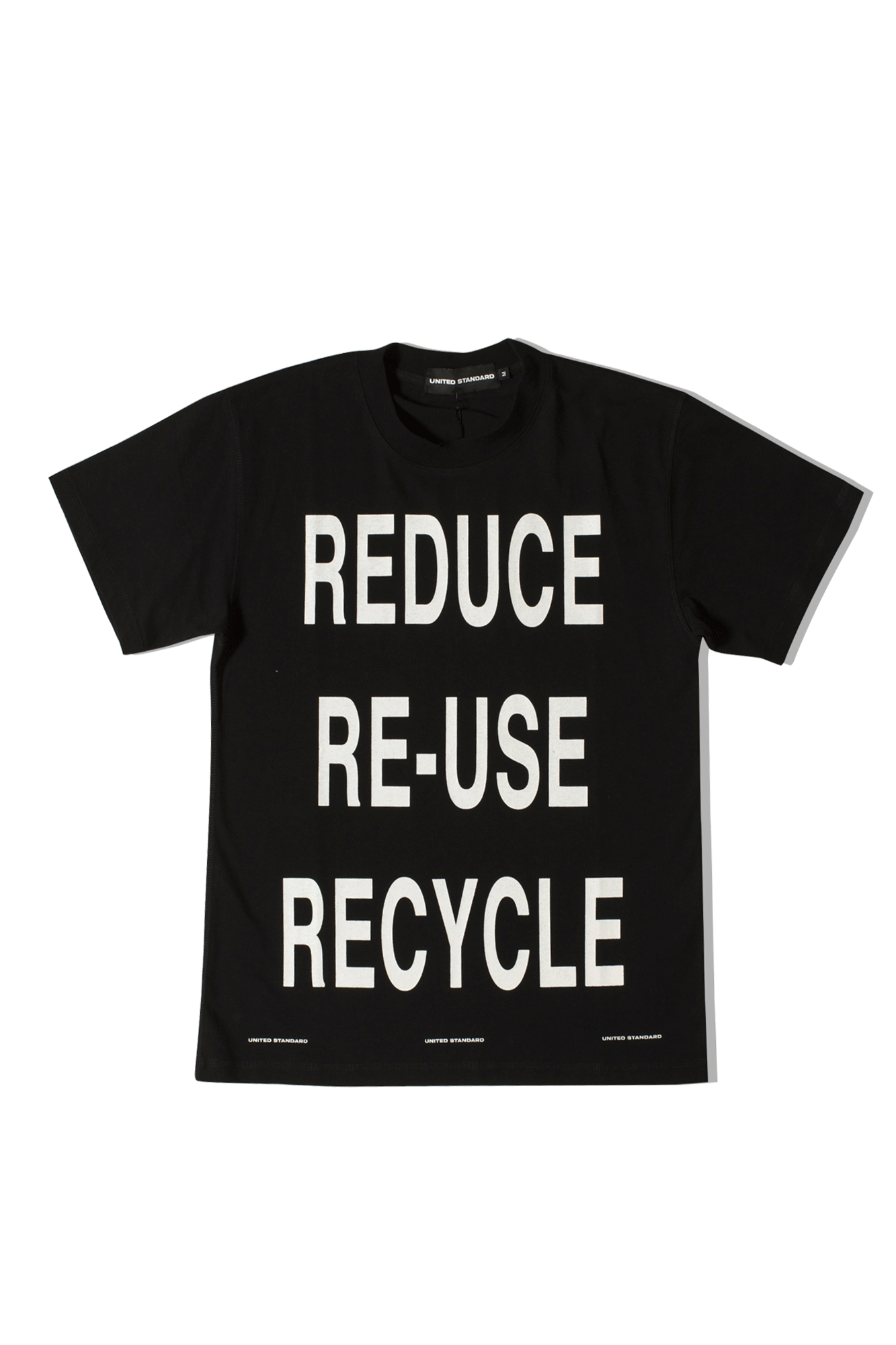 VIRGIL RECYCLE T-SHIRT Nero