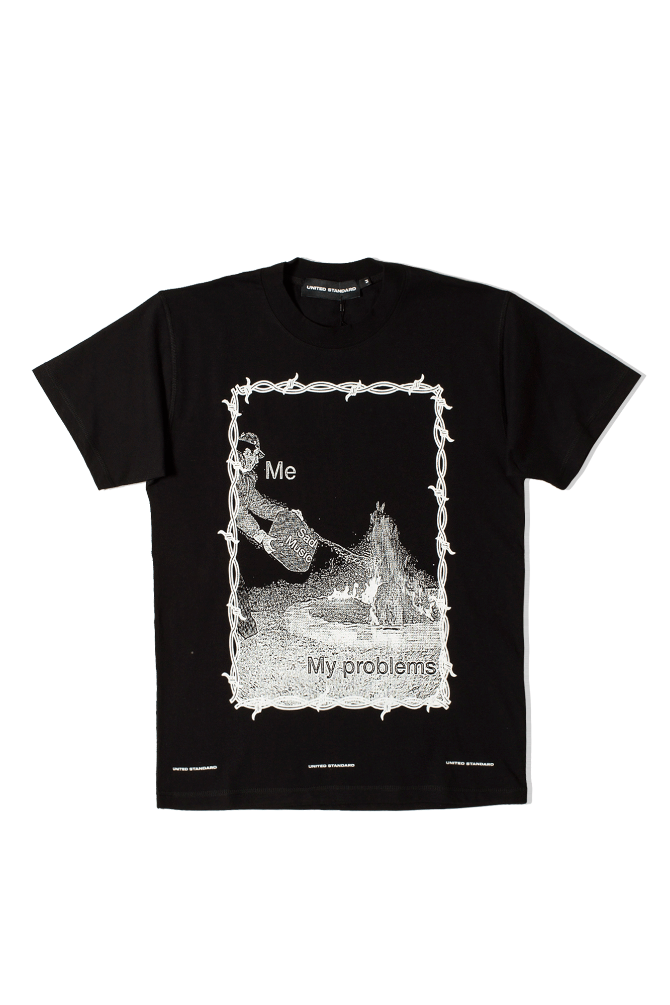Sad Music T-Shirt Nero