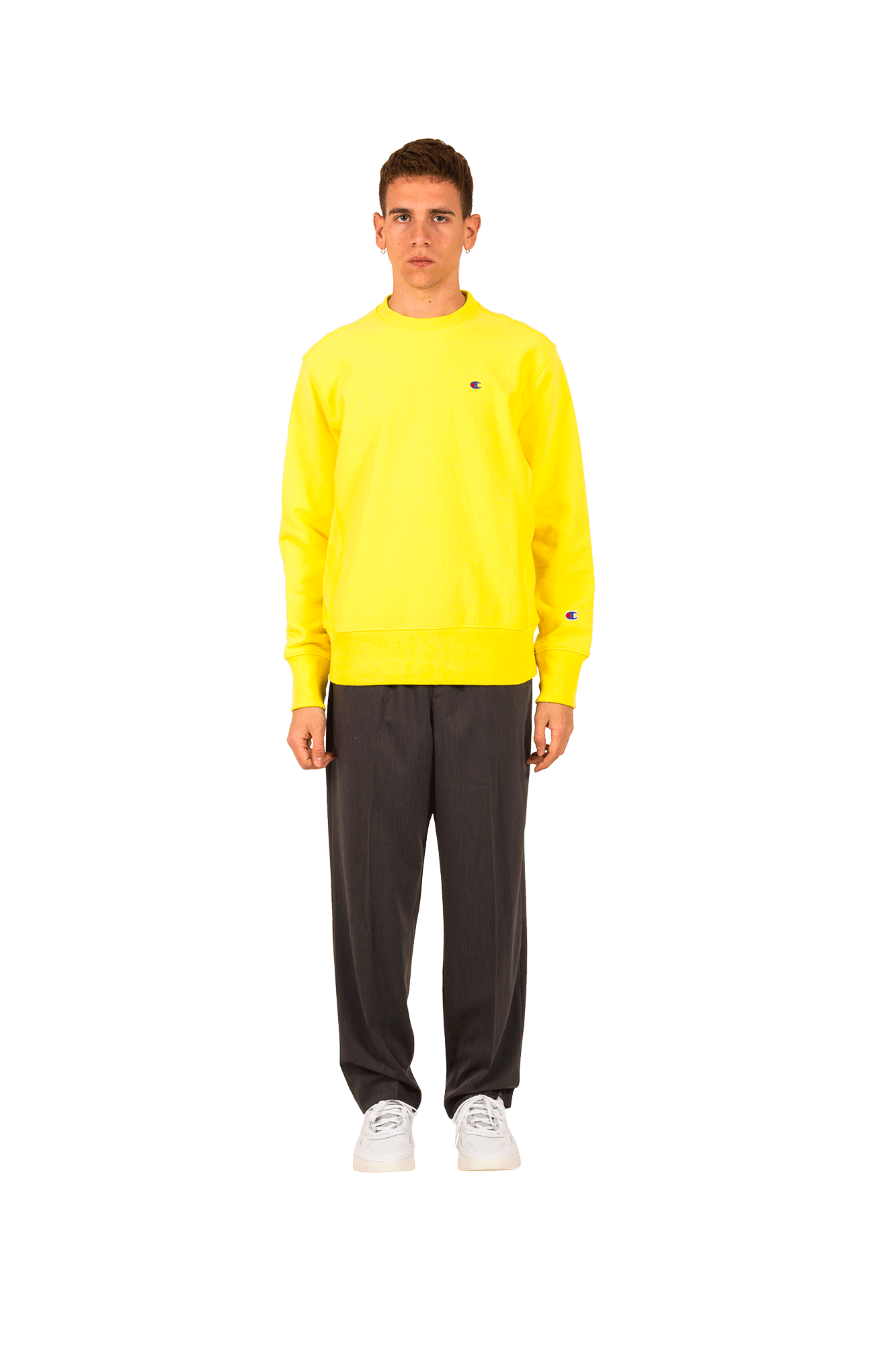 Champion Felpe Crewneck Giallo 210965#YS062#C0008#XXS - One Block Down