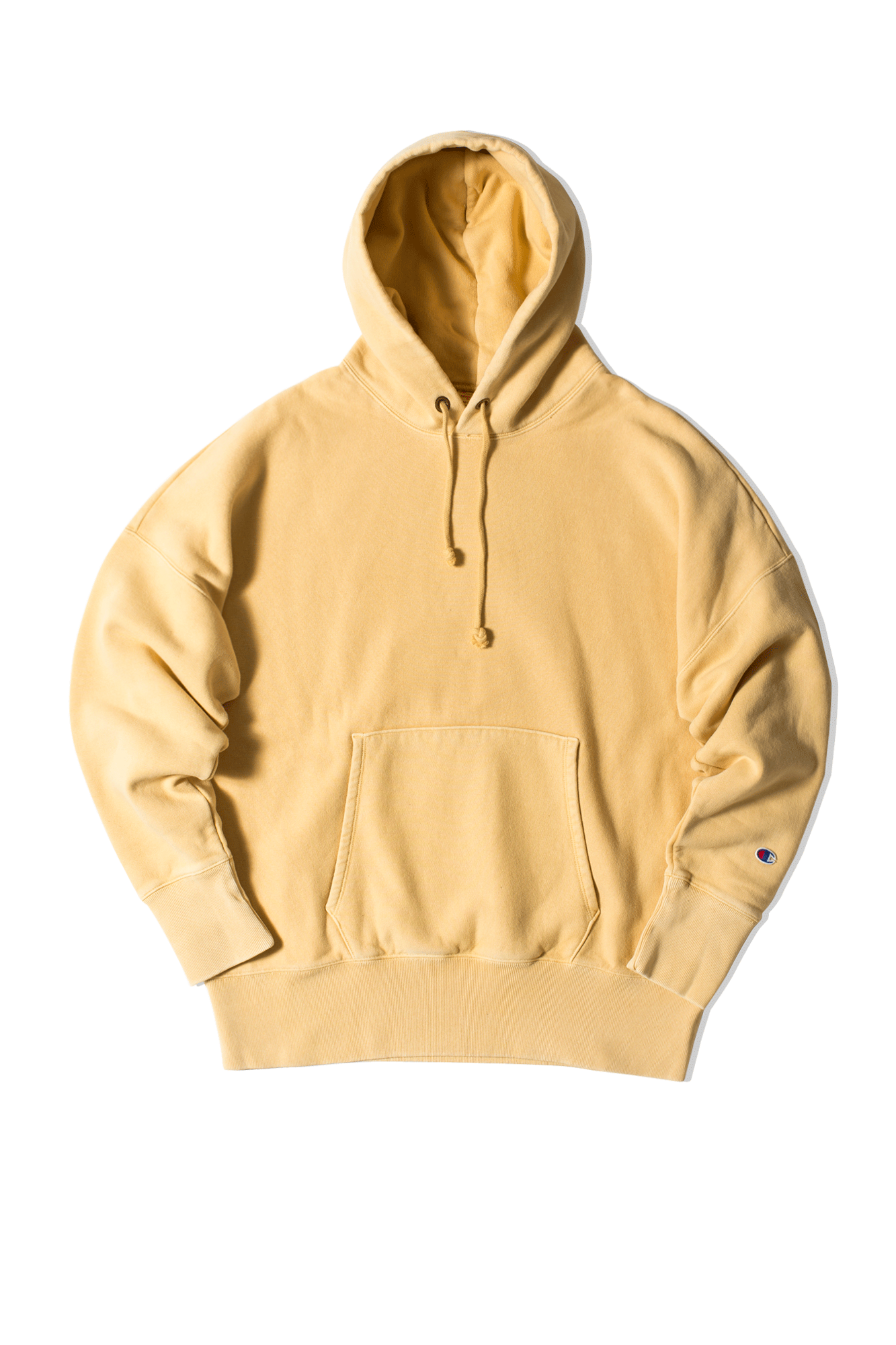 Hooded Sweatshirt Beige