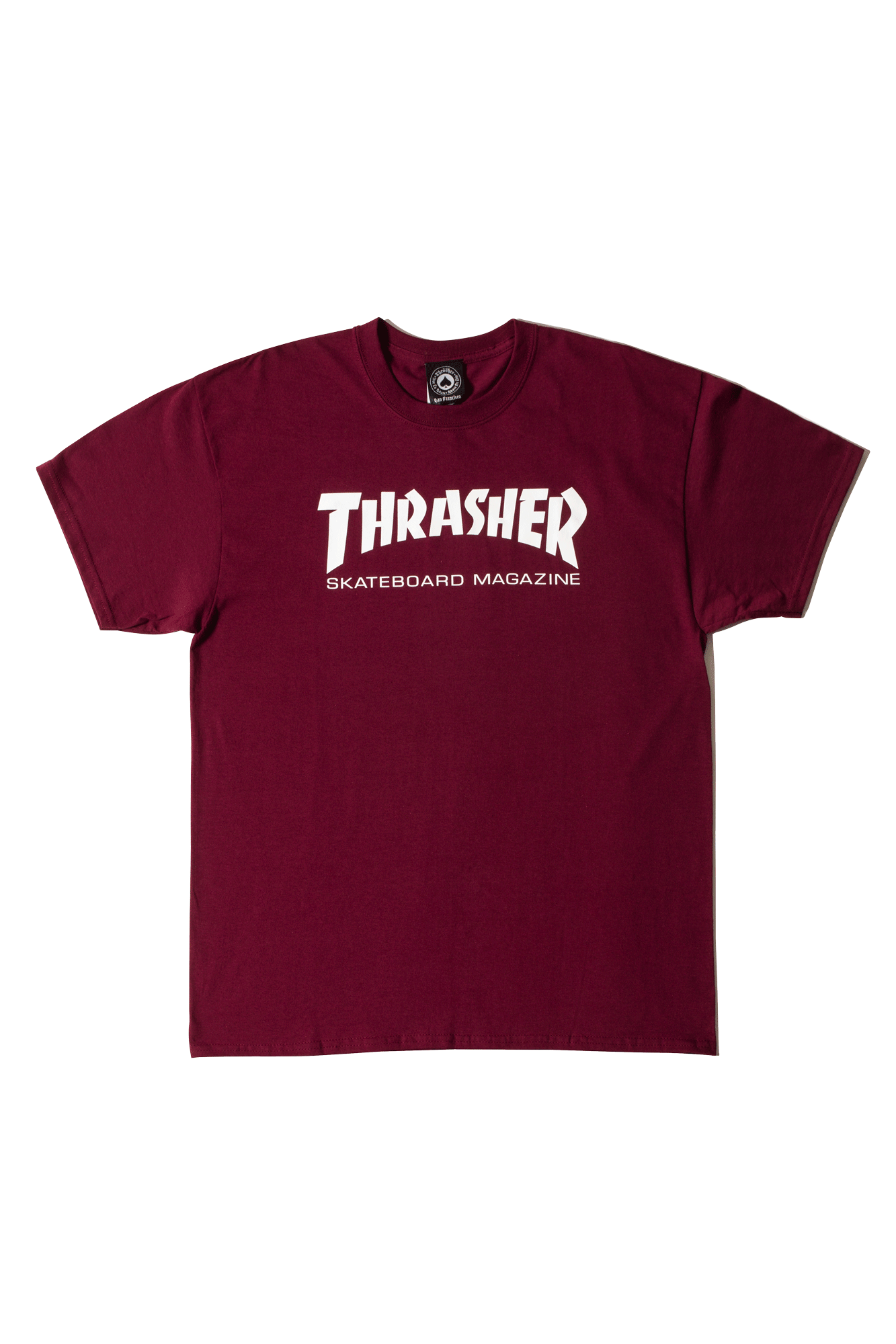 Thrasher T-Shirts Skate Mag Viola 311027#000#PURPLE#S - One Block Down