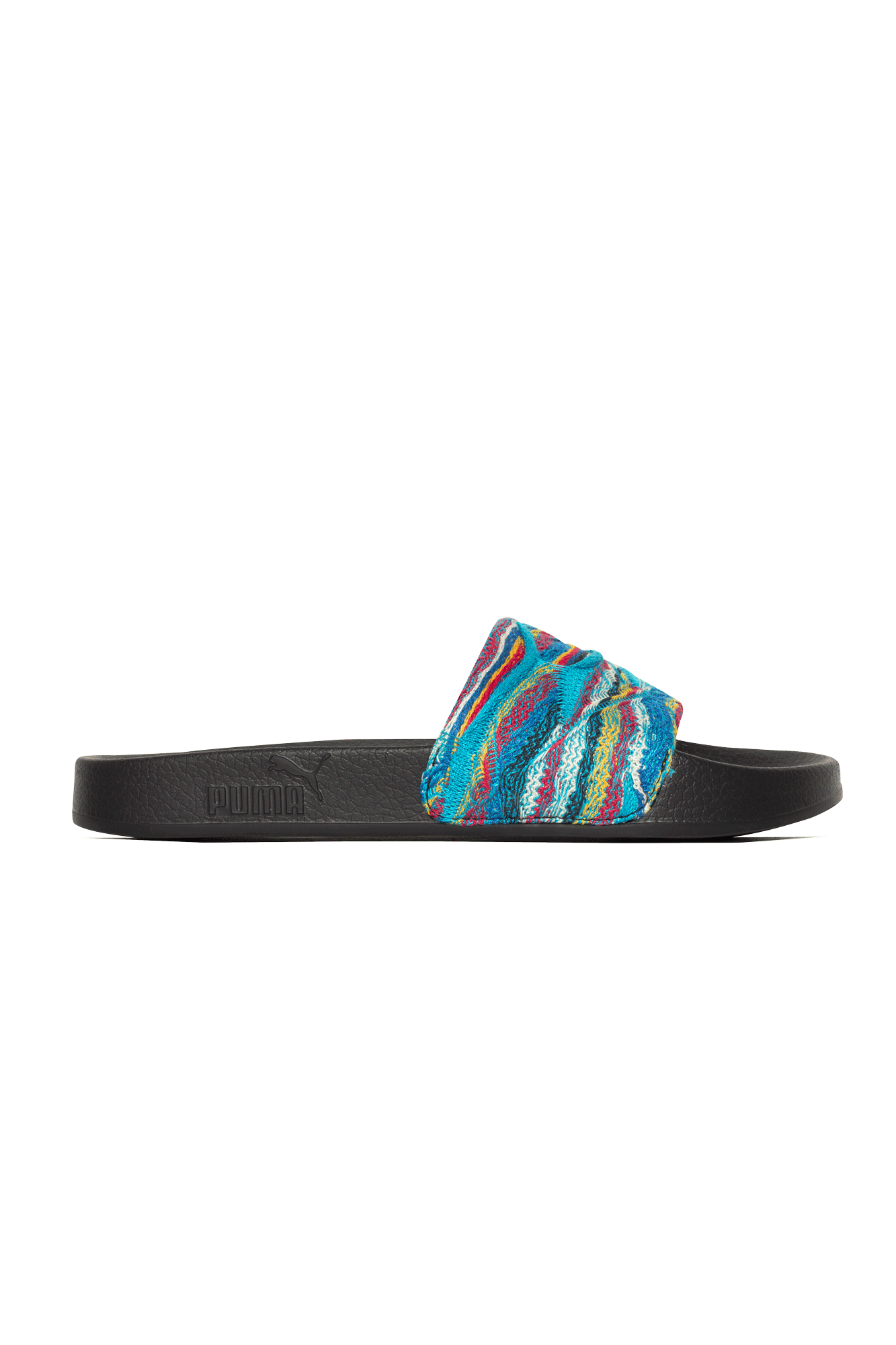 Puma Sandali & Ciabatte Leadcat Coogi Multi Nero Nero - One Block Down