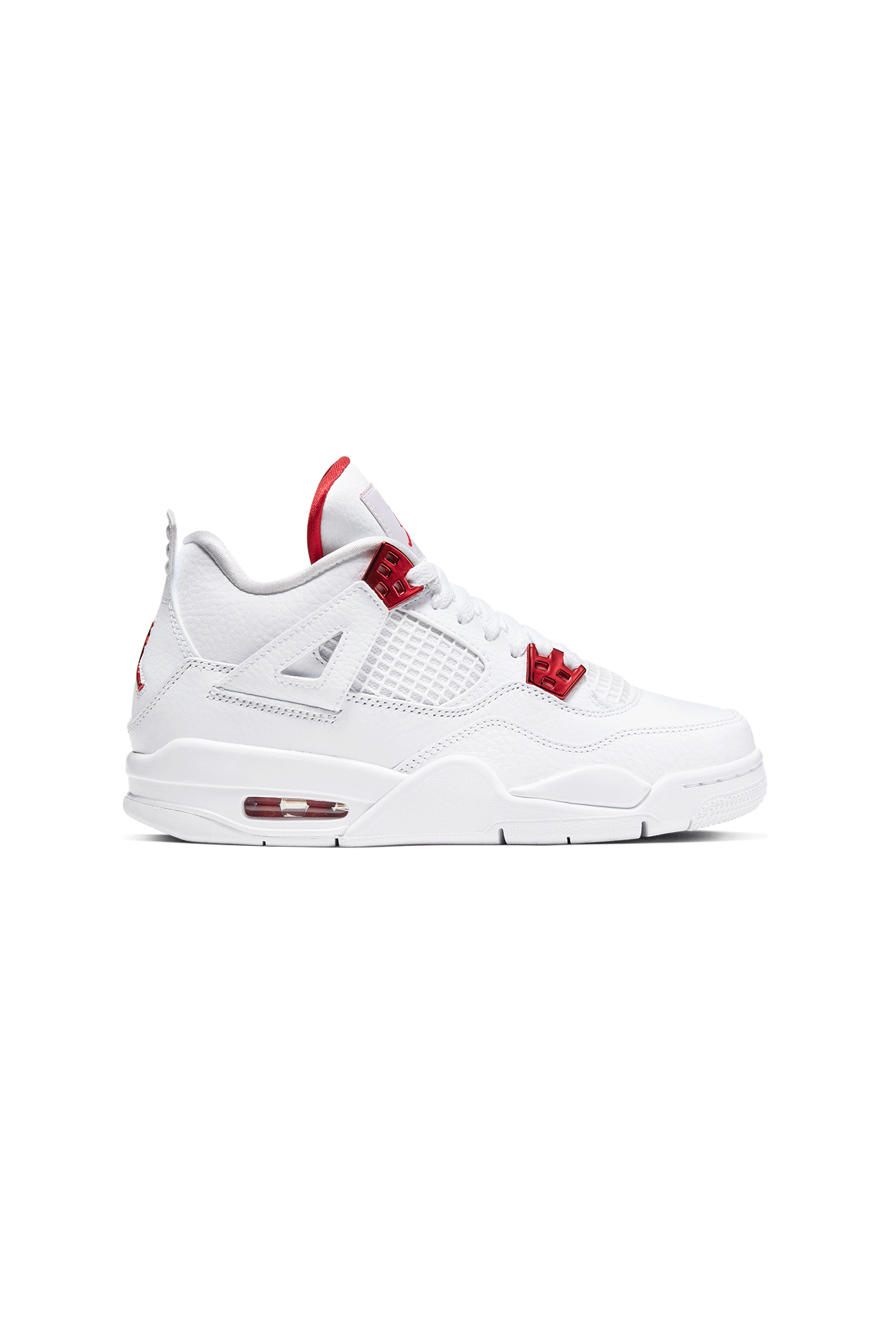 "4 Retro (GS) ""Metallic Red"" Bianco"