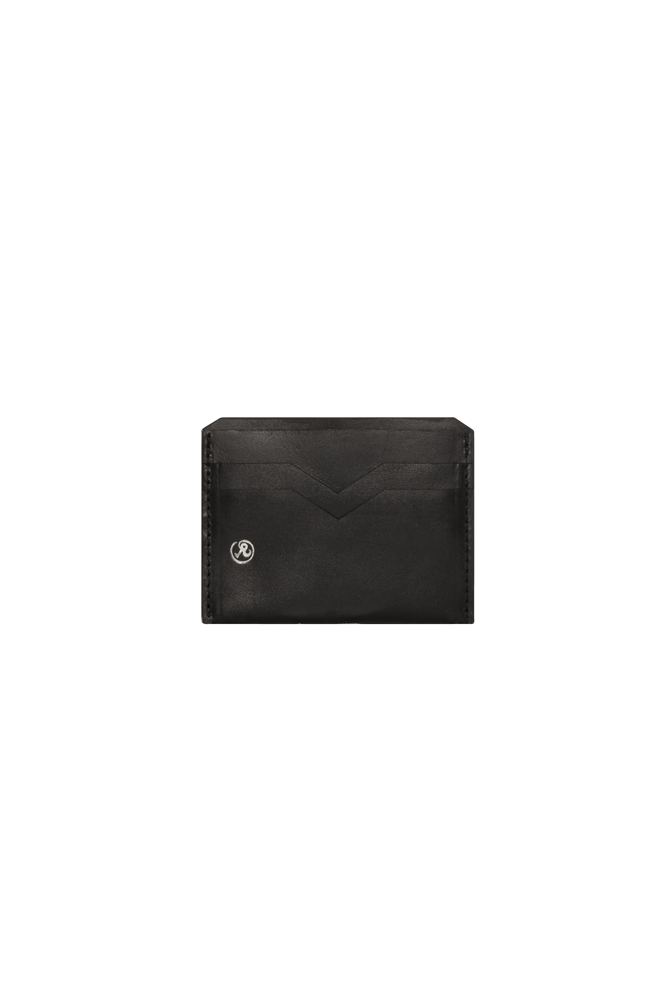 Leather Cardholder Nero