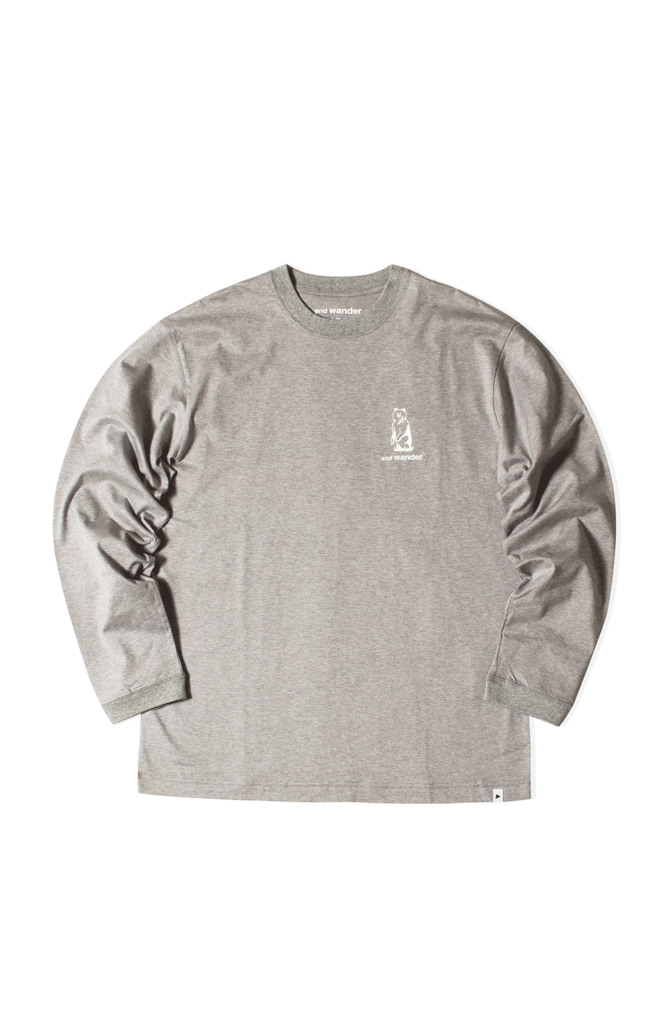 Knife Ridge Long Sleeve T-Shirt Grigio