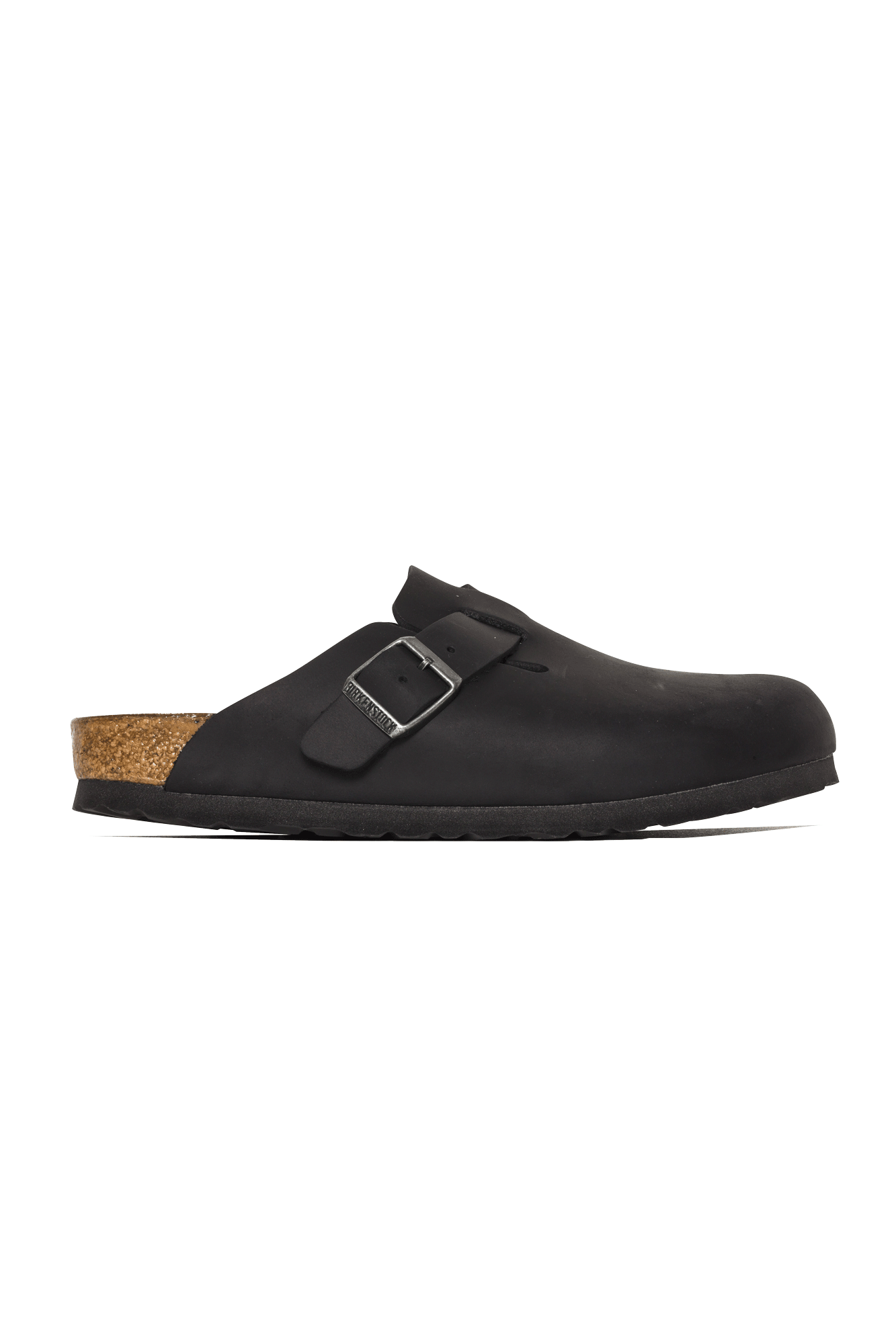 Birkenstock Sandali & Ciabatte Boston Nero Nero - One Block Down