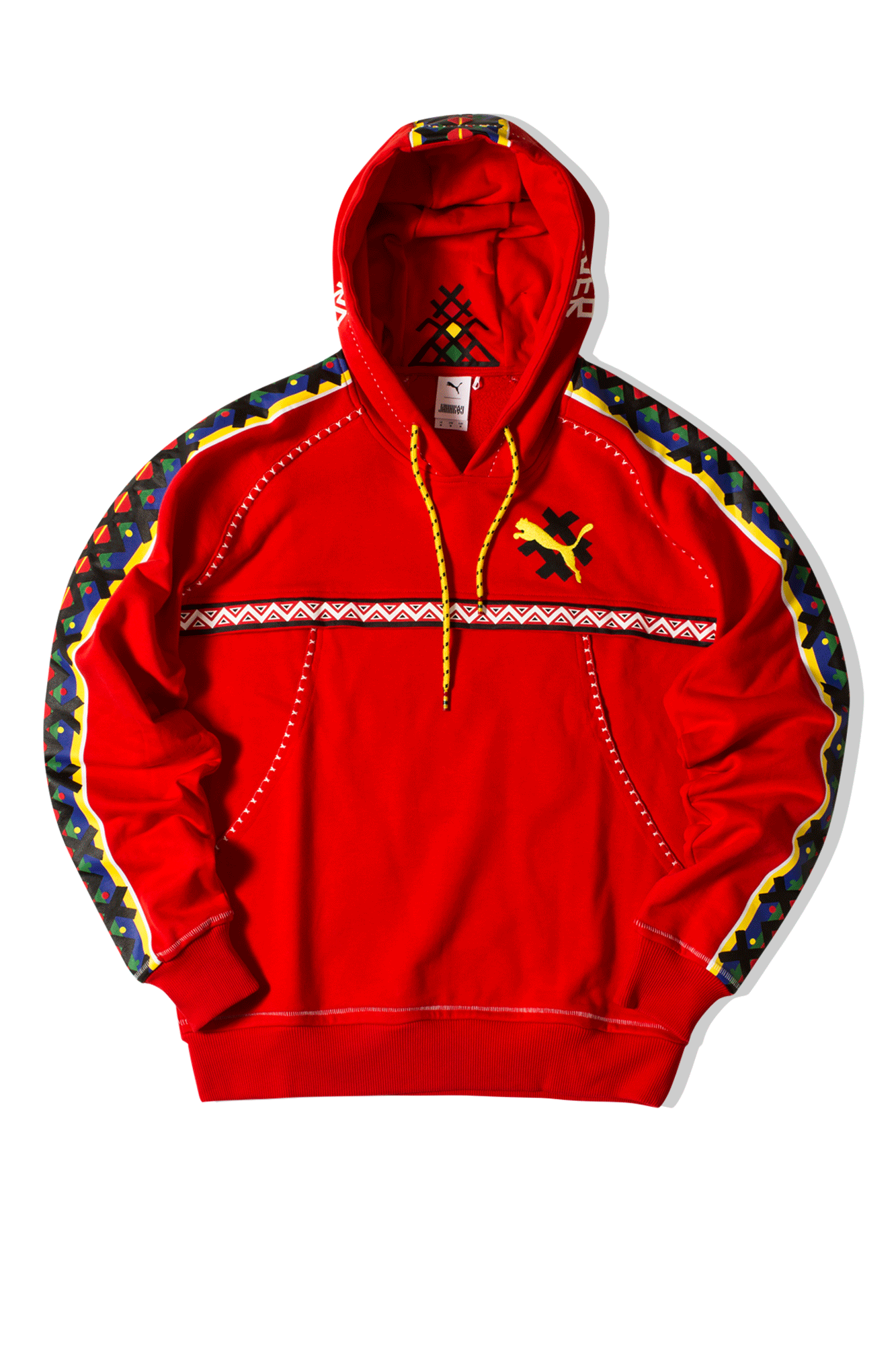 Hoodie x JAHNKOY Rosso
