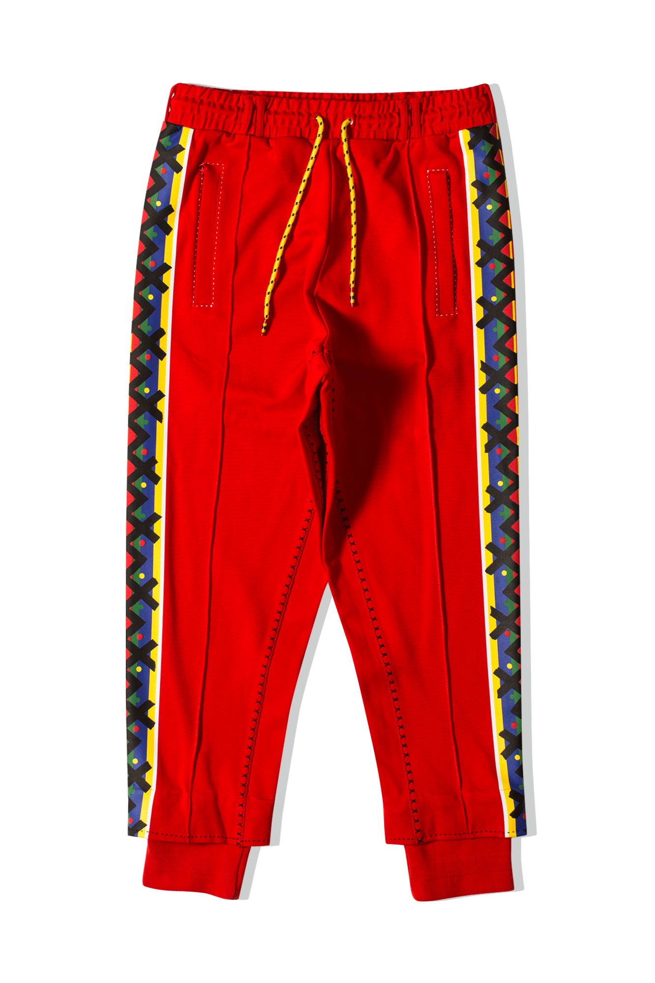 Pants x JAHNKOY Rosso