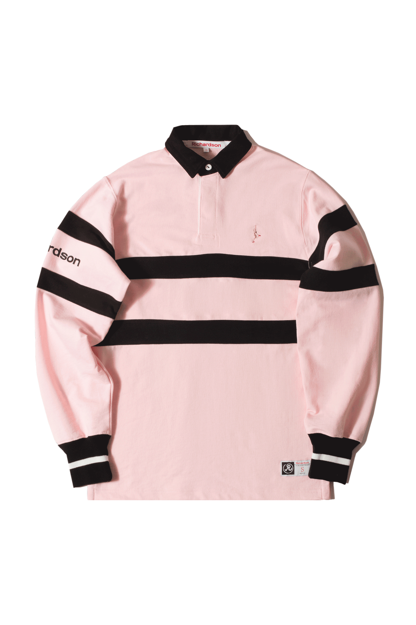 Richardson Mag Polo Cotton Rugby Shirt Rosa 6105100000#000#PINK#S - One Block Down