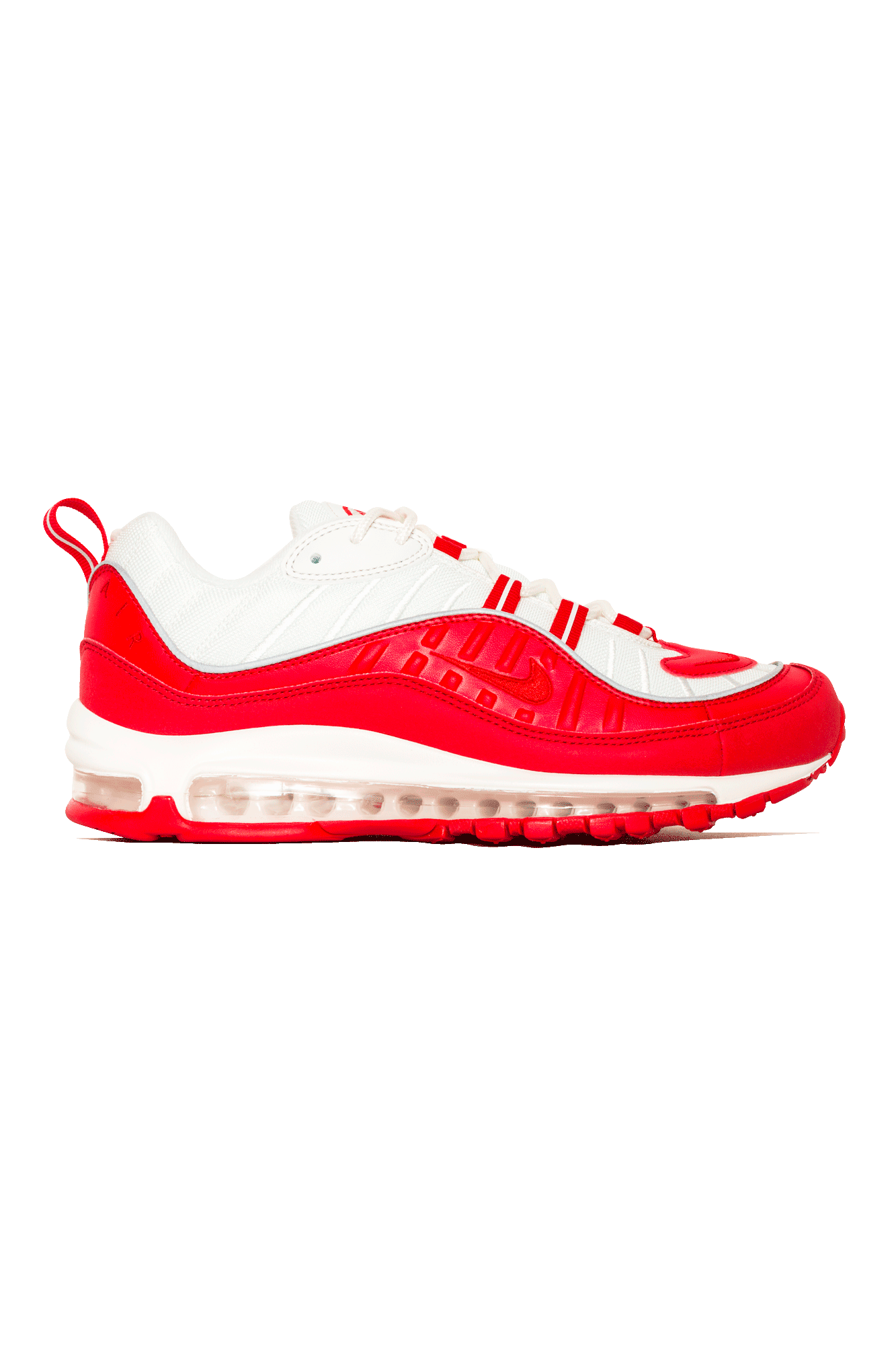 Nike Sneakers Air Max 98 Rosso 640744 #000#602#4 One Block