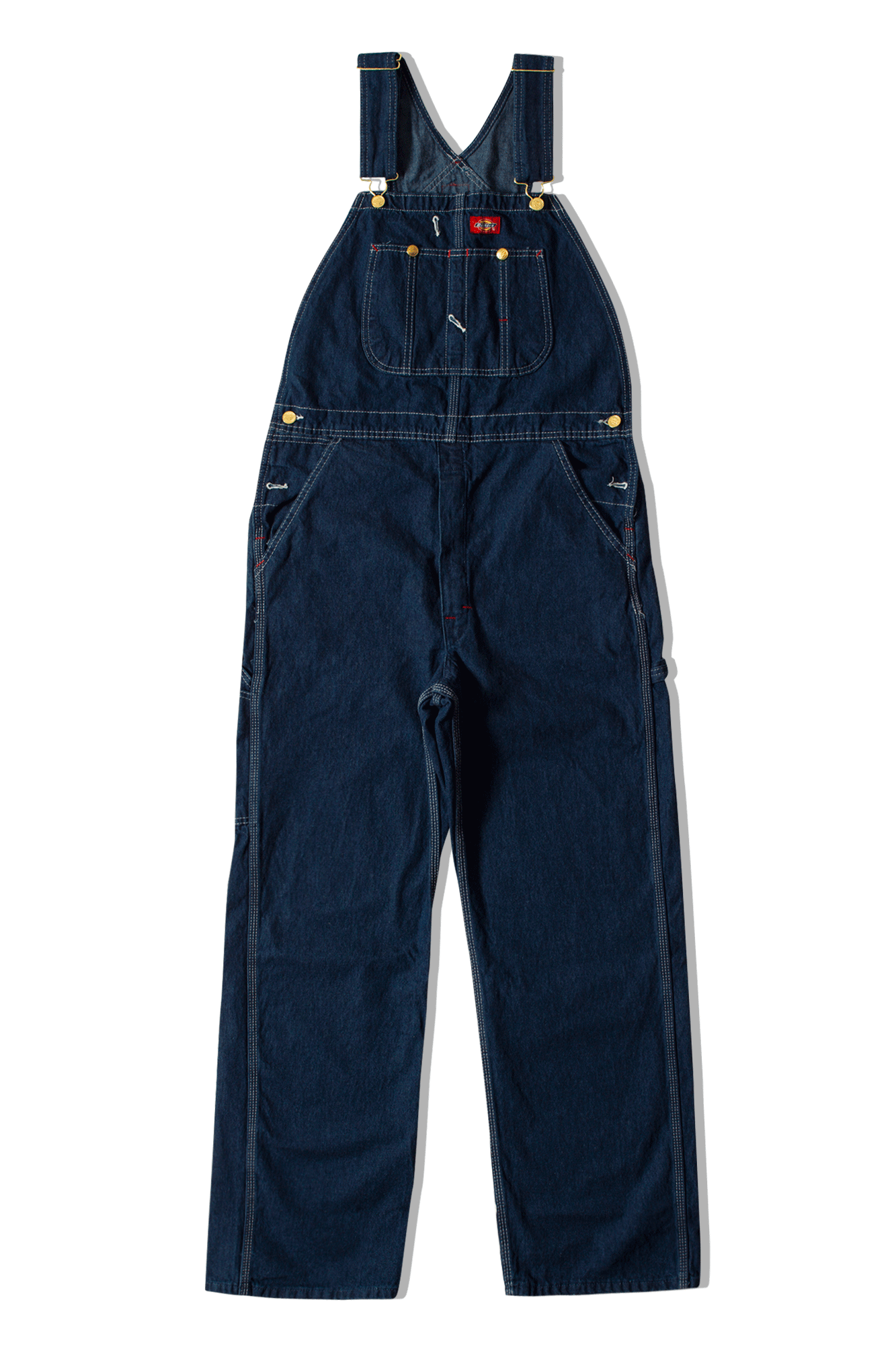 Dickies Salopette Men's Loose Fit Bib Overall Blu 681190067#BIBO#VERALL#27 - One Block Down