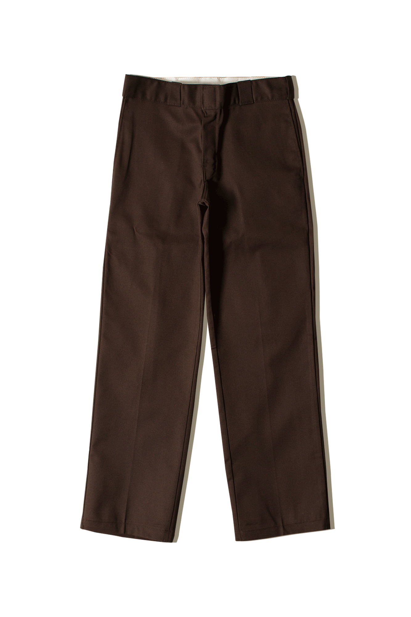 Dickies Pantaloni classici Original 874 Work Trousers Marrone 684190013#000#DBX#29/32 - One Block Down