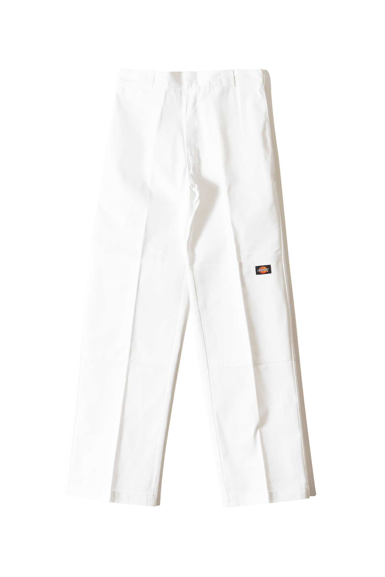 Dickies Pantaloni classici Double Knee Work Trousers Bianco 684190022#000#WH#30/32 - One Block Down