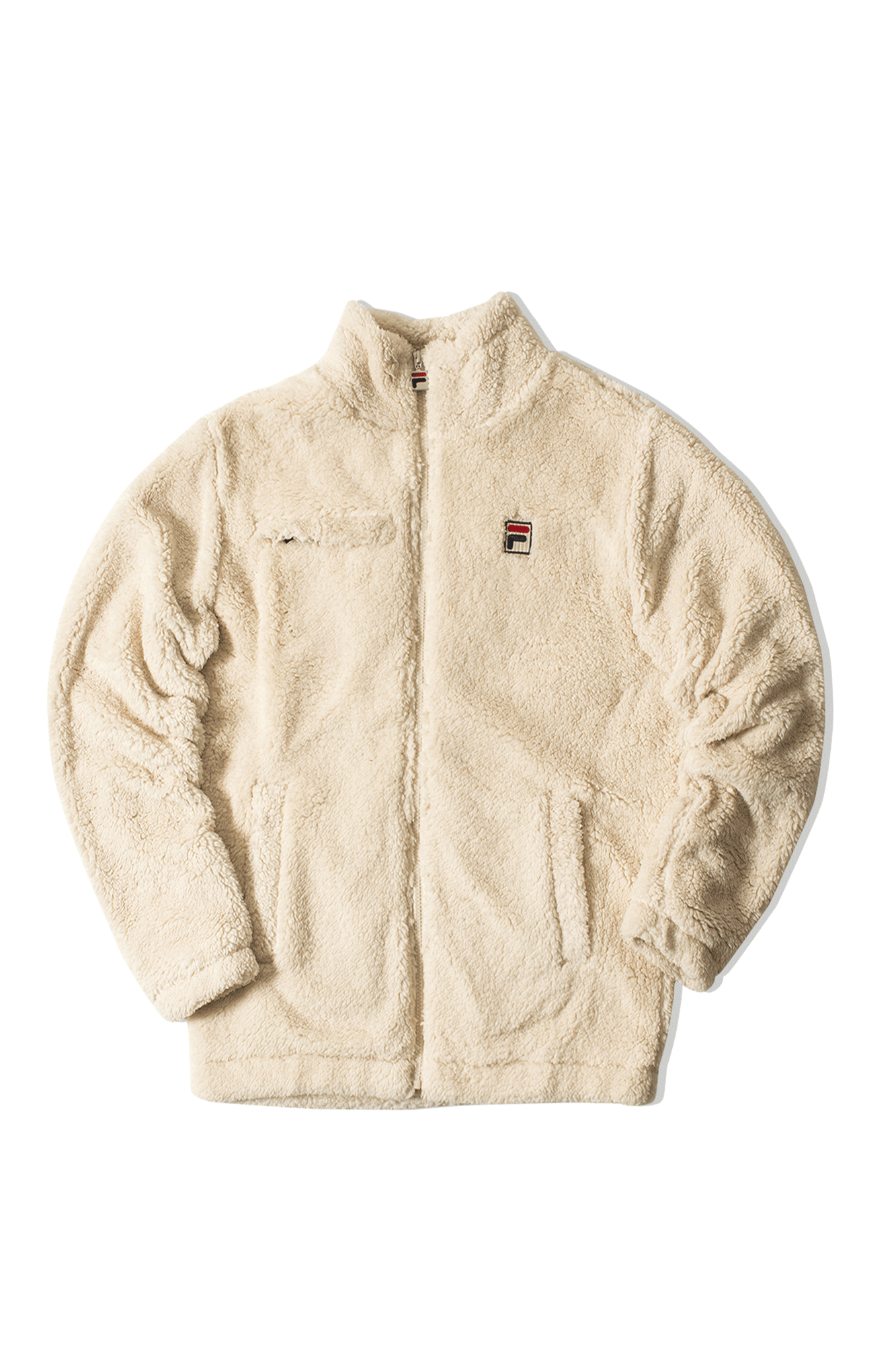 Teddy Sherpa Zip Hoody Marrone