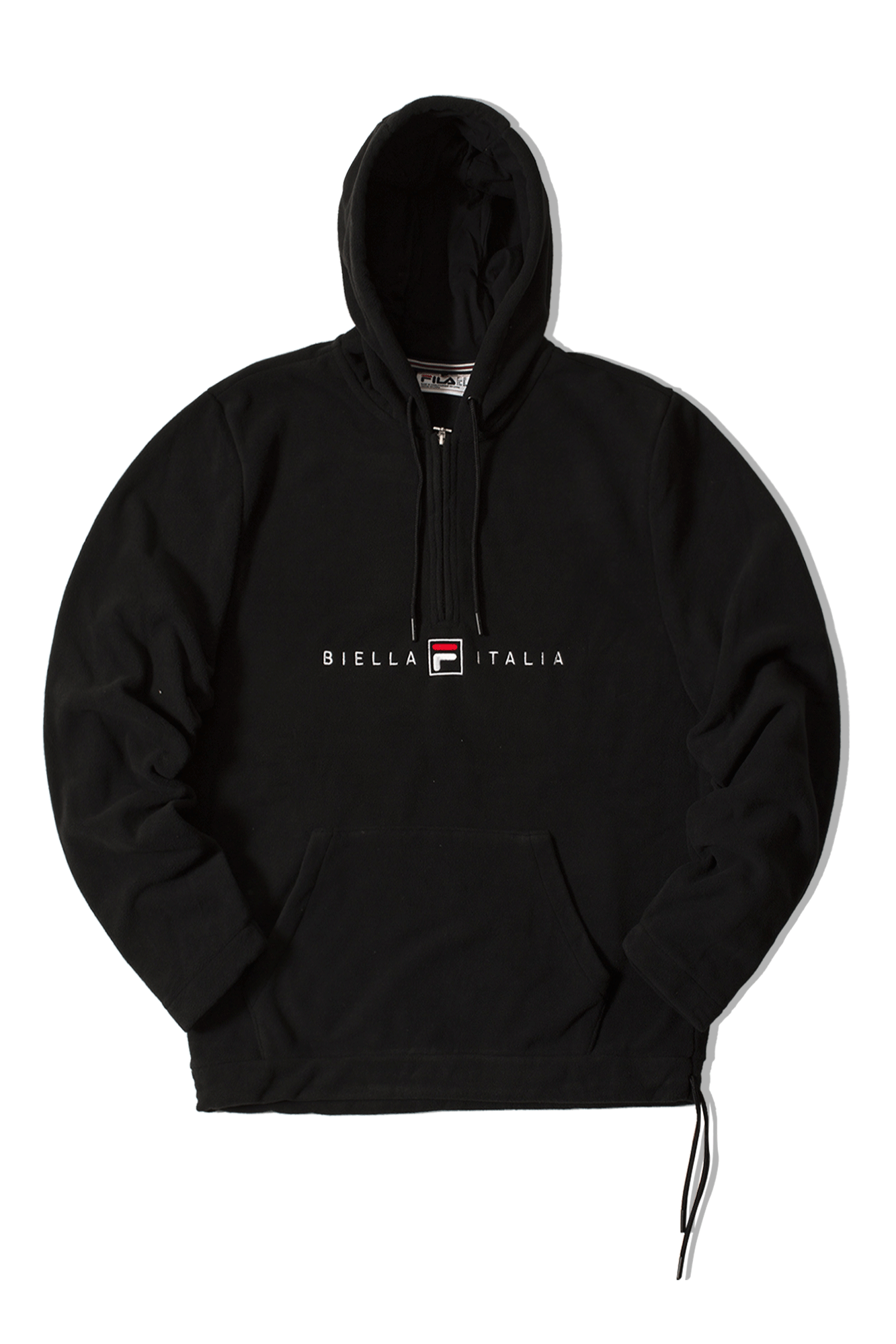 Zane2 Polar Fleece Hoody Nero